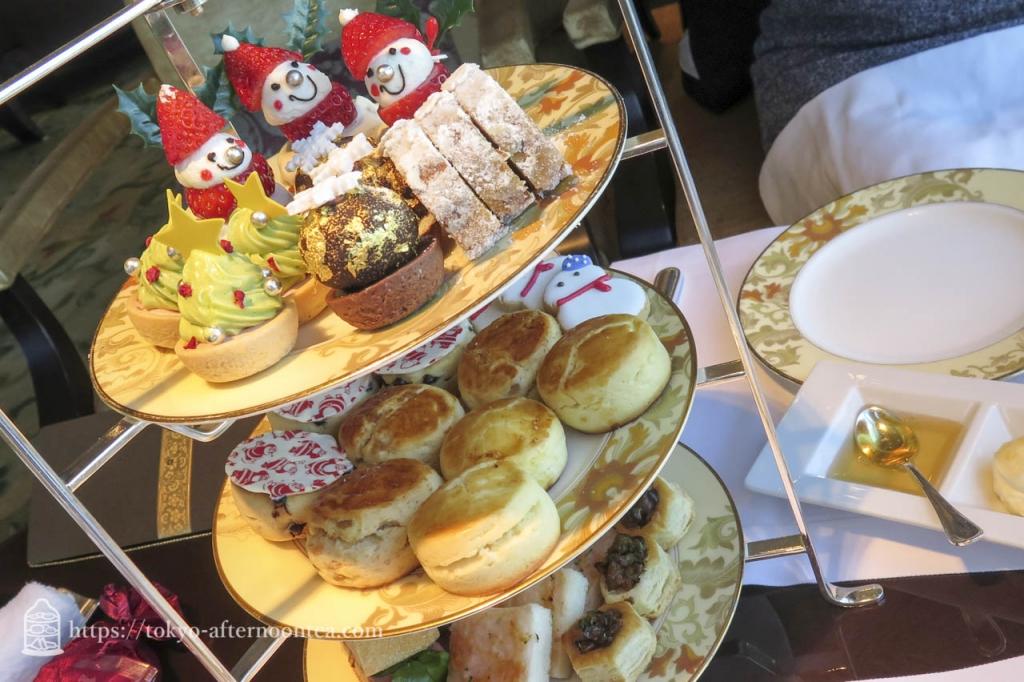 シャングリ・ラホテル東京 のクリスマスアフタヌーンティー2015年