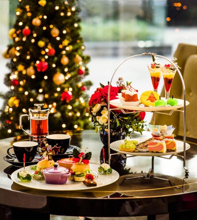 東京マリオットホテル 2017年のクリスマスアフタヌーンティー