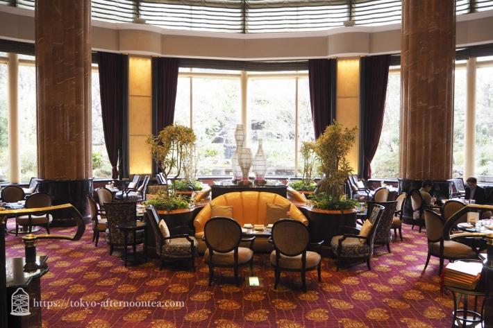ウェスティンホテル東京のロビーラウンジ「ザ・ラウンジ」