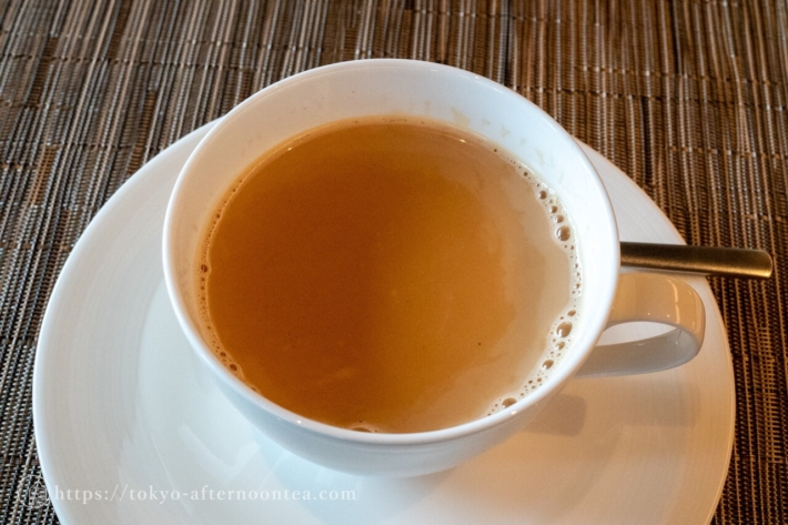 スパイスラボトーキョーアフタヌーンティーのインディアン ミルク チャイ