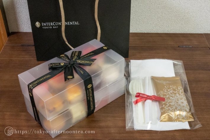 インターコンチネンタル東京ベイのテイクアウトアフタヌーンティー