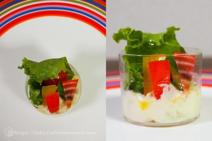 彩り野菜のサラダ(インターコンチネンタル東京ベイのテイクアウトアフタヌーンティー)