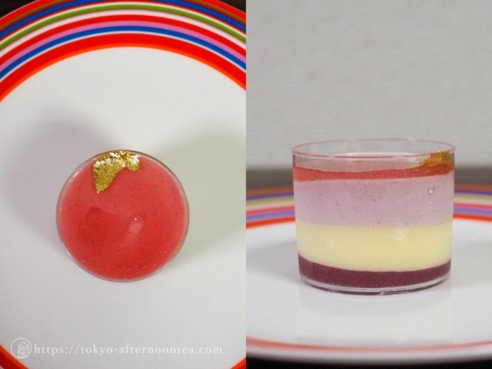 桃とシャンパンのムース(インターコンチネンタル東京ベイのテイクアウトアフタヌーンティー)