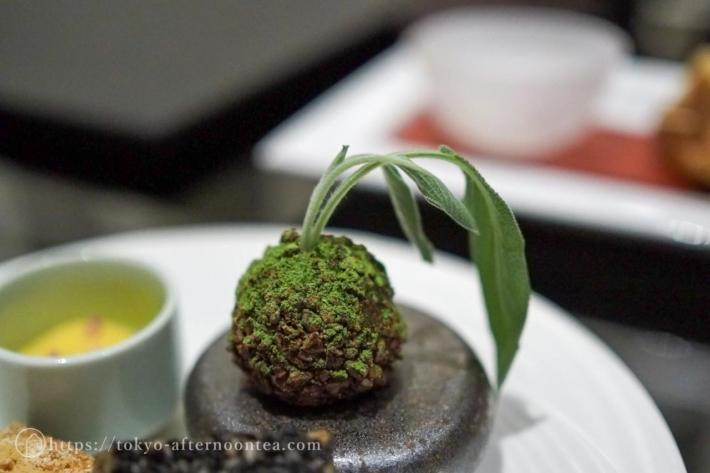 苔玉風発酵バター(インターコンチネンタル東京ベイのグリーンボタニカルアフタヌーンティー)