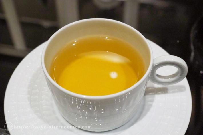 深蒸し煎茶「浮世一分五厘」(インターコンチネンタル東京ベイのグリーンボタニカルアフタヌーンティー)