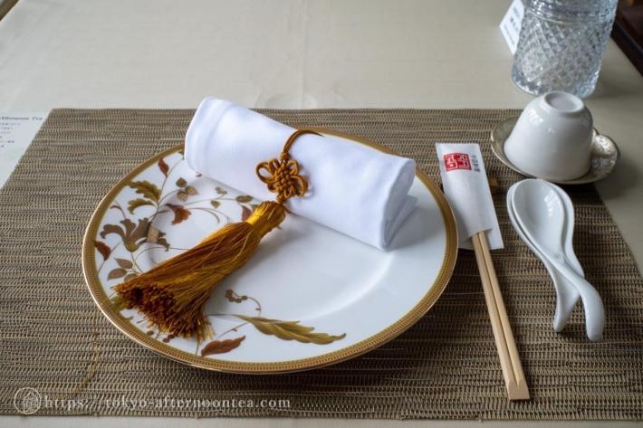 中国料理 礼華 四君子草のアフタヌーンティー