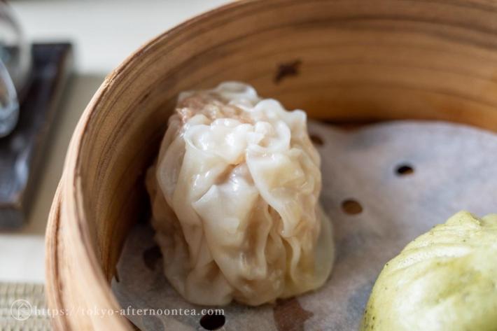 豚肉焼売(中国料理 礼華 四君子草のアフタヌーンティー)