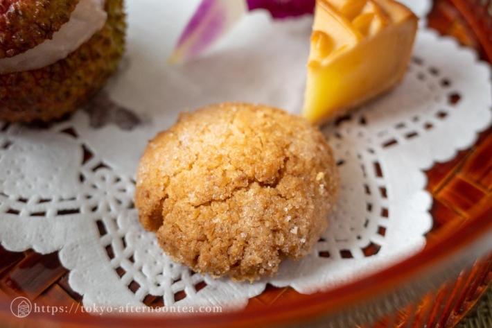 山椒のクッキー(中国料理 礼華 四君子草のアフタヌーンティー)