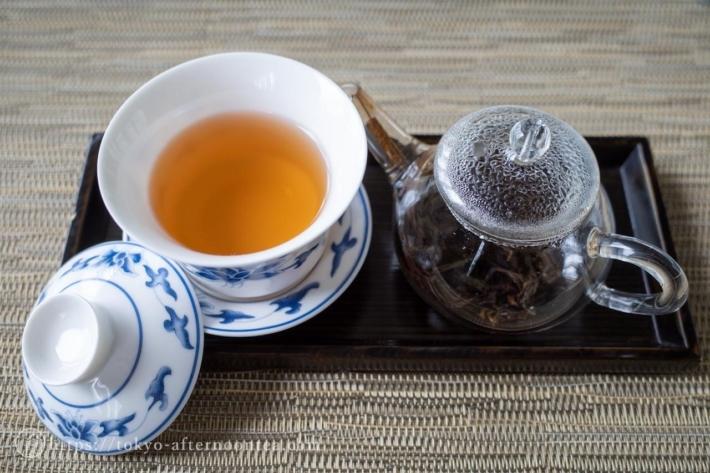 宋種蜜蘭香茶(中国料理 礼華 四君子草のアフタヌーンティー)