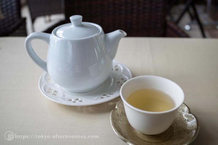 金萓茶(中国料理 礼華 四君子草のアフタヌーンティー)