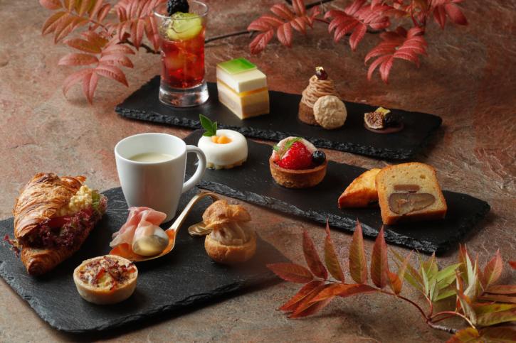 ホテル雅叙園東京の秋の果実アフタヌーンティー