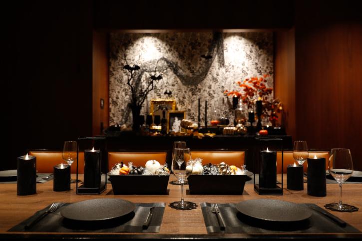 ホテル雅叙園東京のハロウィン仕様の個室