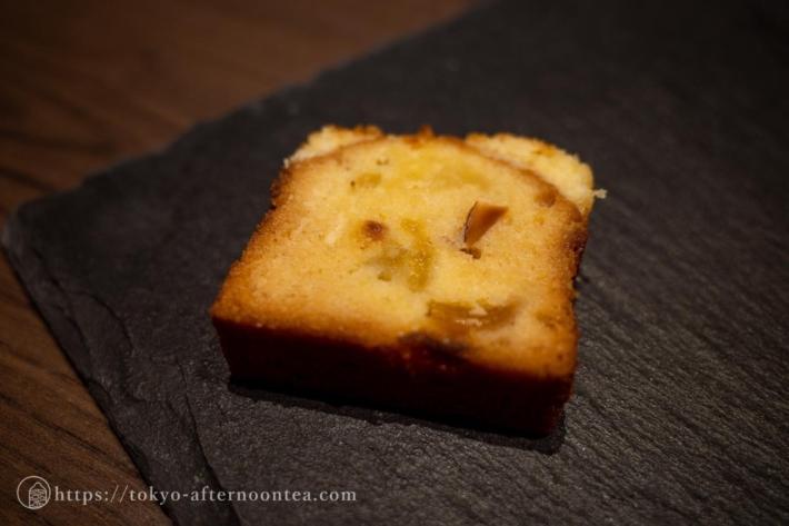 夏のパウンドケーキ「向日葵」(雅叙園のカナデテラスサマーアフタヌーンティー)
