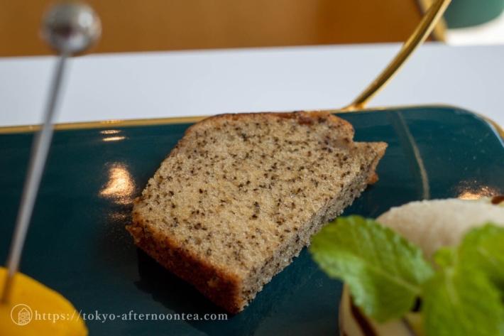 パウンドケーキ(NANATEA & Tsutsumiのアフタヌーンティーコース)