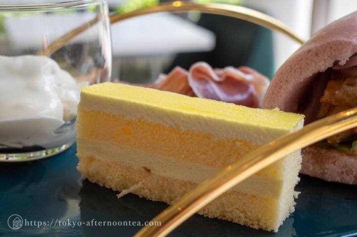 ケーキ(NANATEA & Tsutsumiのアフタヌーンティーコース)