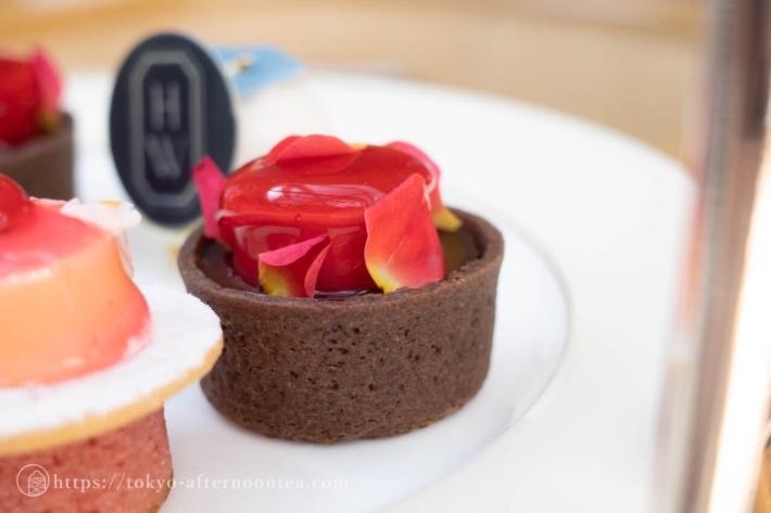 無花果のチョコレートタルト(パークハイアット東京のハリー・ウィンストンアフタヌーンティー)