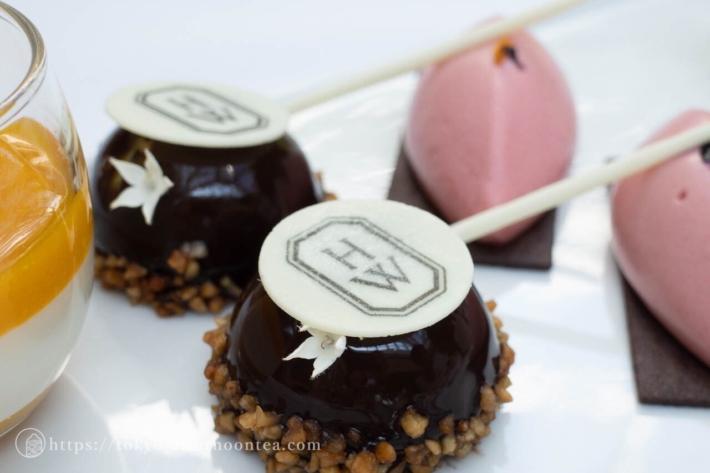 抹茶チョコレートムース(パークハイアット東京のハリー・ウィンストンアフタヌーンティー)