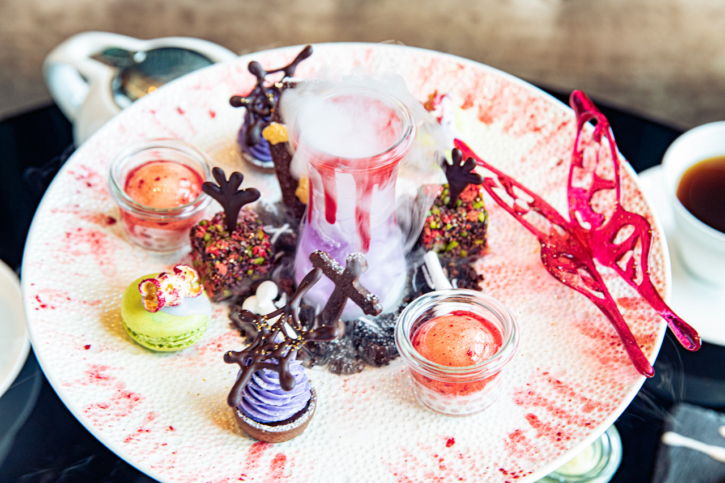 ザ・プリンスギャラリー 東京紀尾井町の蝶が舞うギャラリーアフタヌーンティー Halloween2020