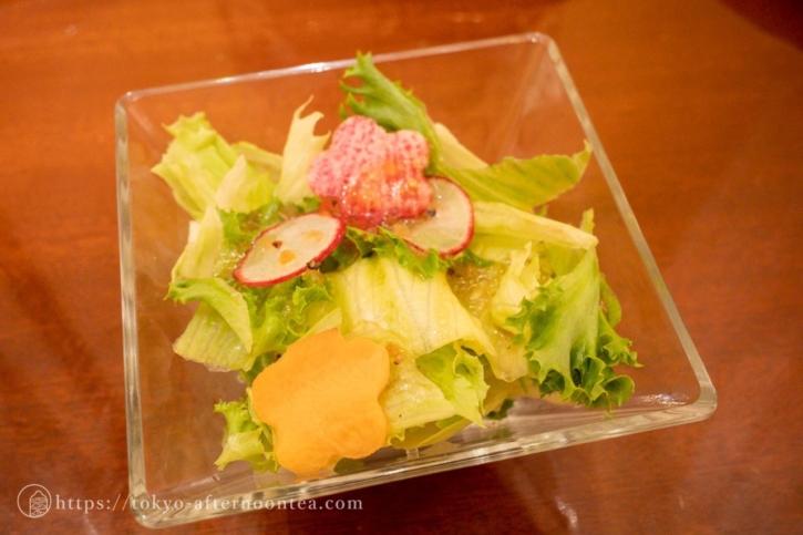 サラダ(ロイヤルクリスタルカフェのハイティーセット)