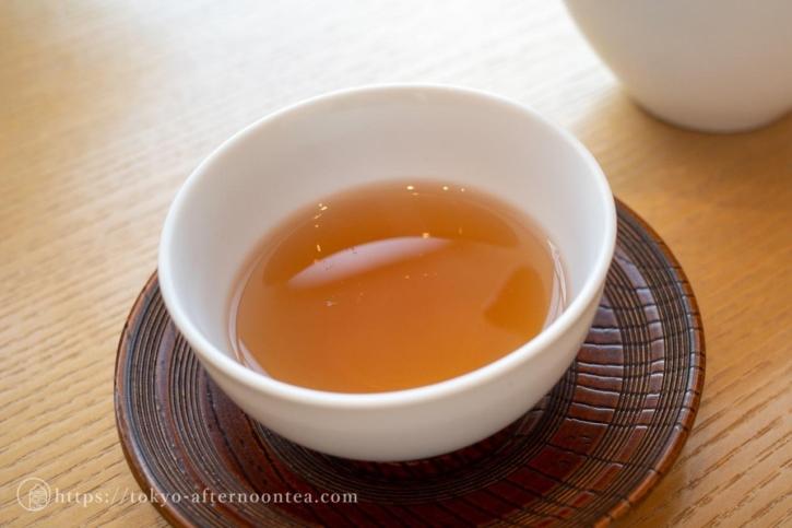 焙じ茶「京かをり」(たん熊北店アフタヌーンティー)