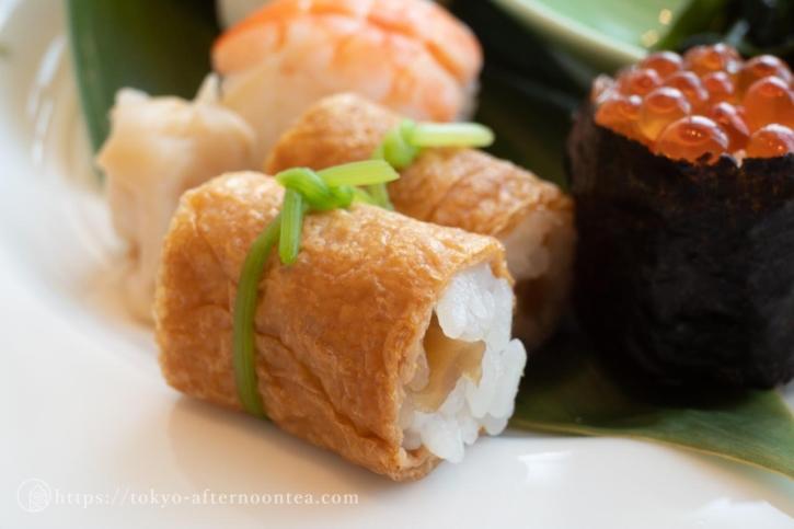 ミニいなり寿司(たん熊北店アフタヌーンティー)