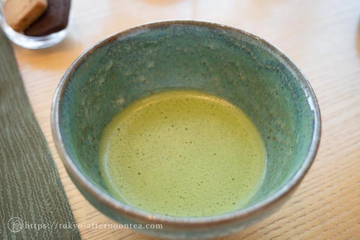 抹茶(たん熊北店アフタヌーンティー)