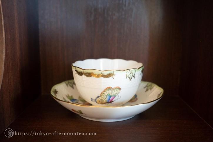 ヘレンドのカップ(たん熊北店 二子玉川店)