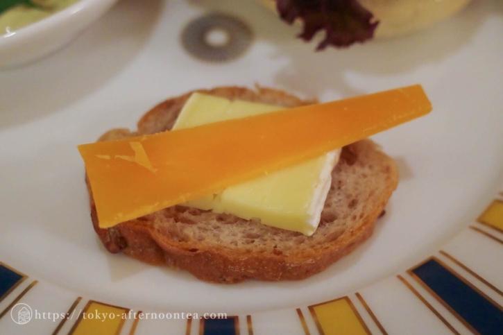 フランス産チーズ盛り合わせ(椿山荘のプレミアムイブニングハイティー)