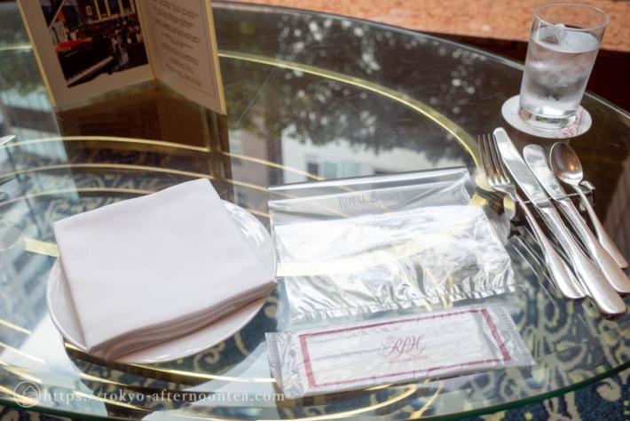 ロイヤルパークホテルのマロンアフタヌーンティー