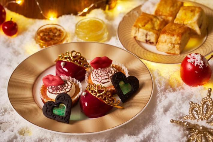VINO BUONOのアフタヌーンティー-白雪姫と魔女のクリスマスティータイム-