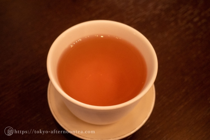信楽 ほうじ茶(セルリアンタワー東急ホテル「坐忘」のハロウィンアフタヌーンティー)