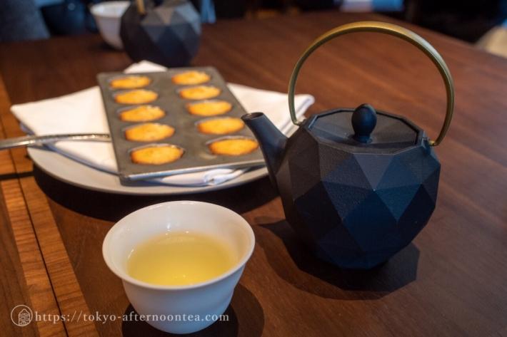 美濃白川茶 茶蔵園 特上煎茶(キンプトン新宿東京ホテルのアートエキシビジョンアフタヌーンティー)