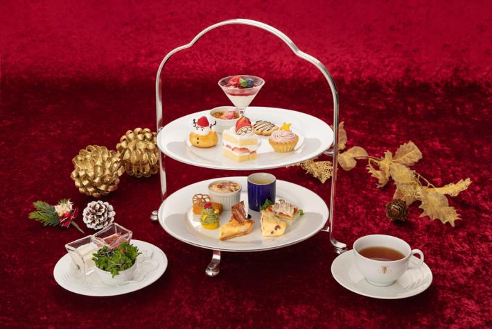 丸ノ内ホテルのクリスマスアフタヌーンティーセット