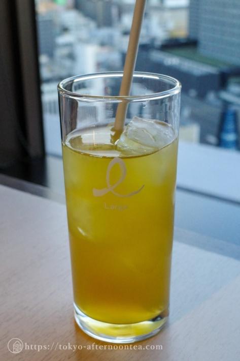 ジンジャーほうじ茶(新宿プリンスホテル「風雅」の伊右衛門コラボアフタヌーンティー)