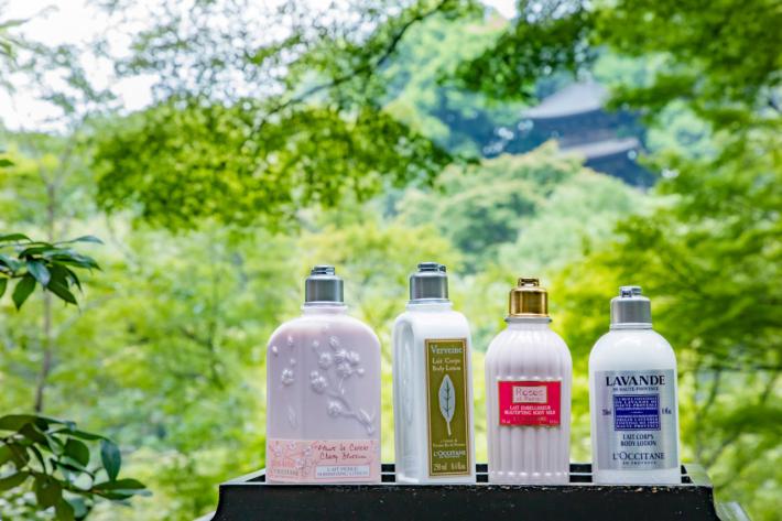 L'OCCITANE×ホテル椿山荘東京コラボの桜ステイプラン