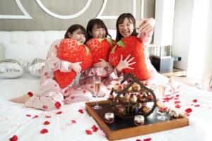 ヒルトン東京お台場のGoGo! Strawberry Girls' Night~超!おこもり女子会~