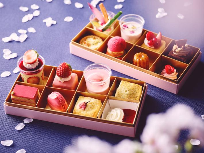 ストリングスホテル東京インターコンチネンタルの桜いちごアフタヌーンティー