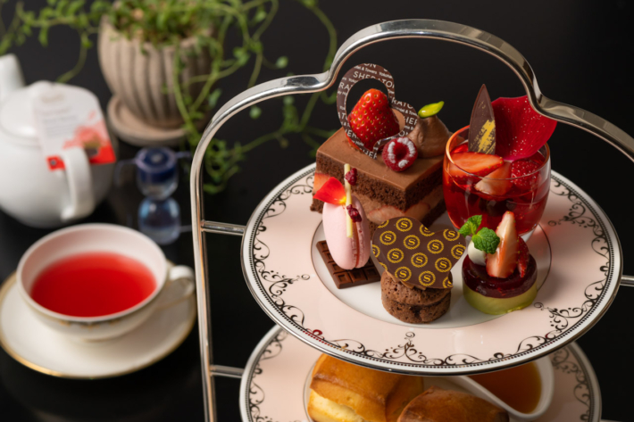 横浜ベイシェラトン ホテル&タワーズの宿泊プラン「お部屋でアフタヌーンティー ~ハッピーバレンタイン~」