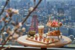 【2021年4月1日~】美しい桜の木々の下食事を楽しめるさくらアフタヌーンティー at さくらガーデンがアンダーズ東京から登場!