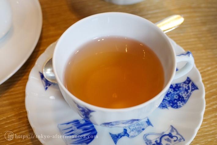 ホットシナモンスパイスの紅茶(キャピトル東急のザ・キャピトル アフタヌーンティー)