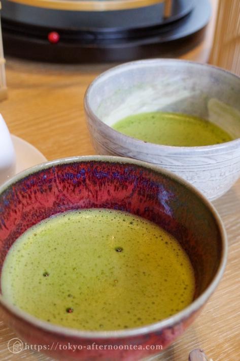 抹茶(キャピトル東急のザ・キャピトル アフタヌーンティー)