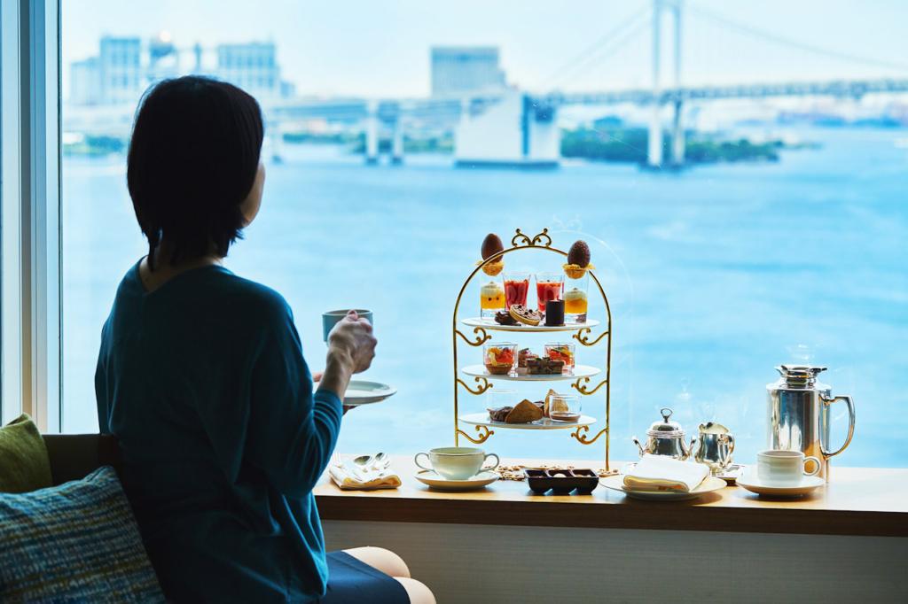 ホテル インターコンチネンタル 東京ベイのおこもりアフタヌーンティー