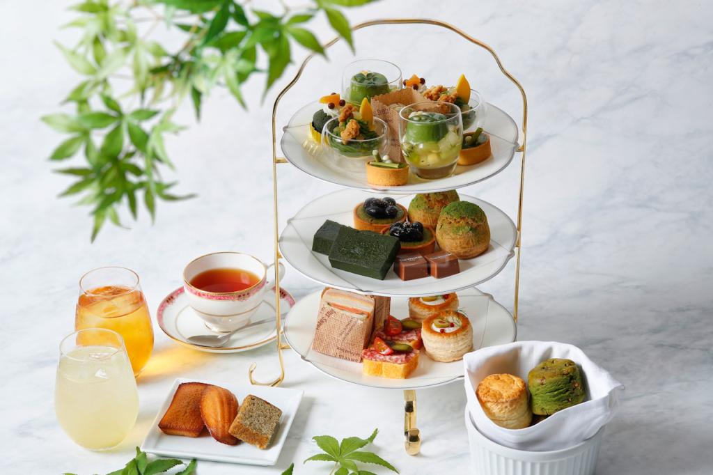 ウェスティンホテル東京の抹茶アフタヌーンティー