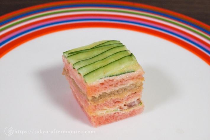 ツナと胡瓜のサンドイッチ(ザ・ペニンシュラ東京のアフタヌーンティーボックス)
