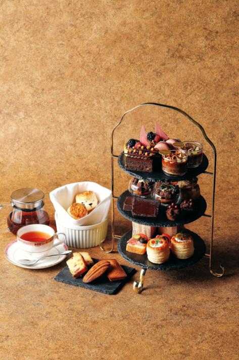 ウェスティンホテル東京のチョコレート アフタヌーンティー