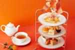 【2021年9月1日~】夏から秋にかけて見頃となる「マリーゴールド」と「オレンジ」がテーマのアフタヌーンティーがグランドニッコー東京台場から登場!